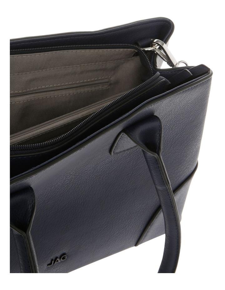 Behati Double-Handle Navy Tote Bag image 4
