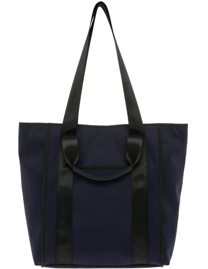 Audrey Nylon Double Handle Tote Bag image 1