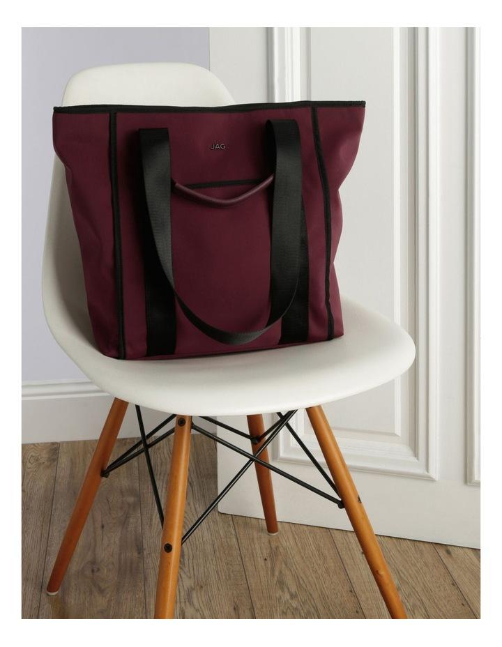 Audrey Nylon Double Handle Tote Bag image 5