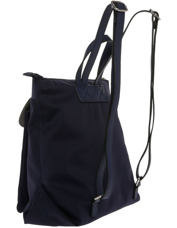 Audrey Nylon Zip Top Back Pack image 2