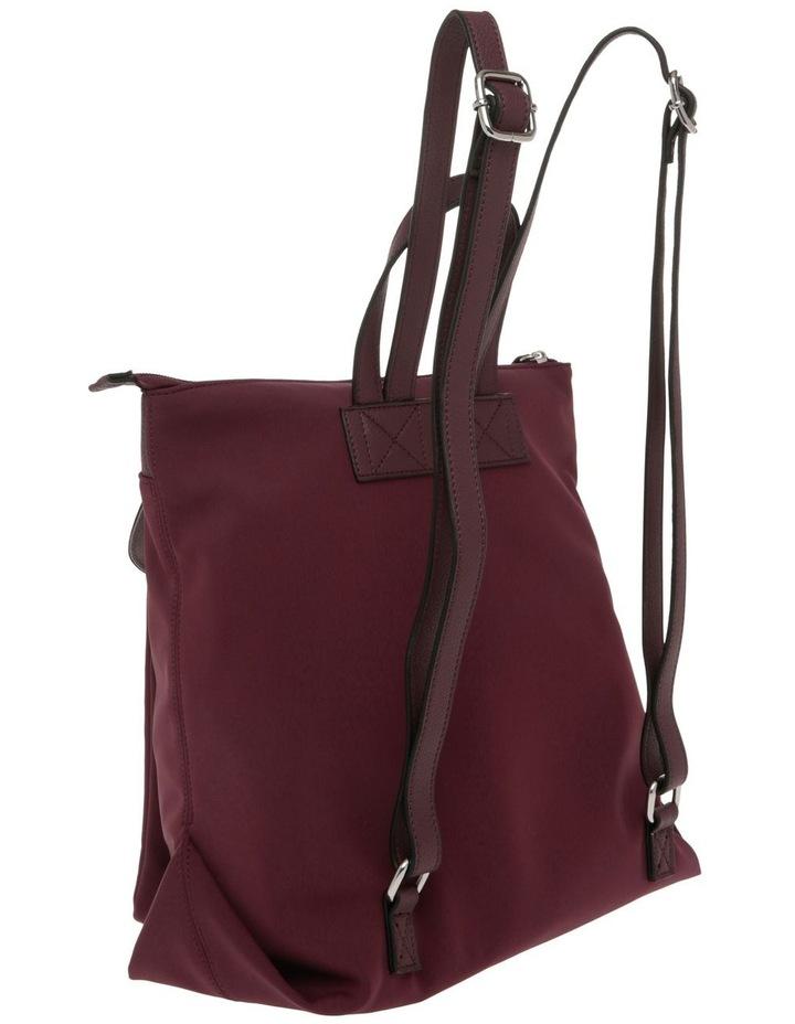 Audrey Nylon Zip Top Back Pack image 2