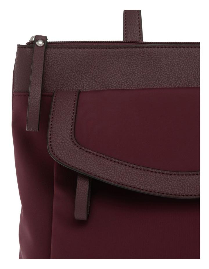 Audrey Nylon Zip Top Back Pack image 3