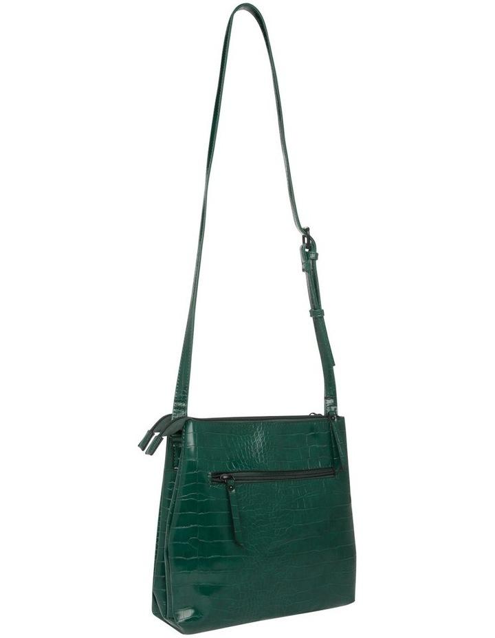 Samantha Croc Zip Top Crossbody Bag image 2