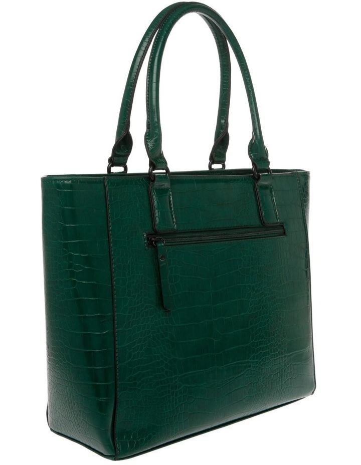 Samantha Croc Double Handle Tote Bag image 2