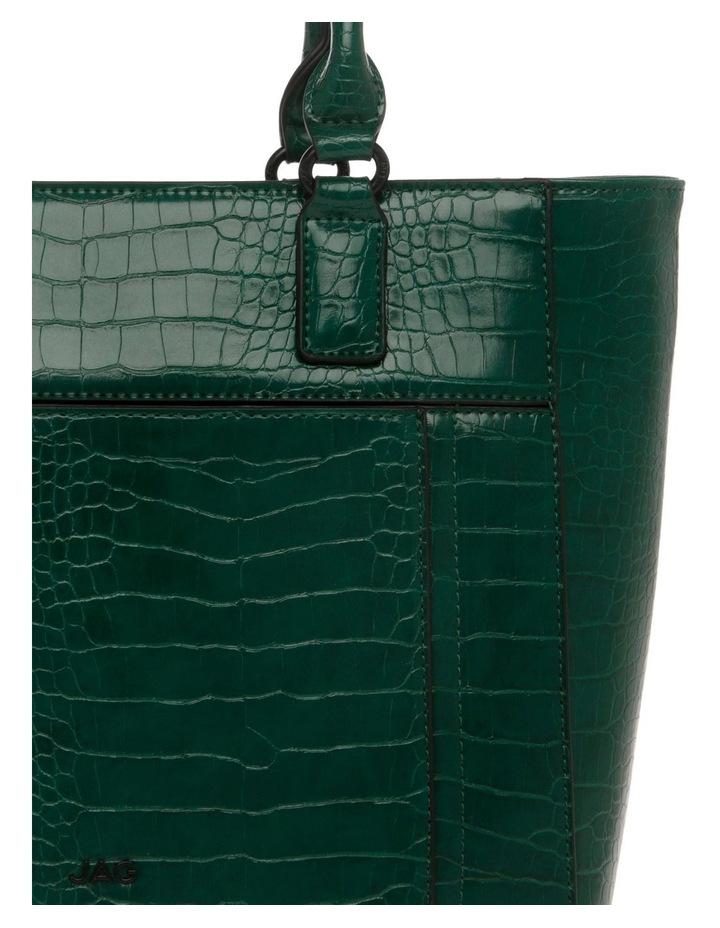 Samantha Croc Double Handle Tote Bag image 3