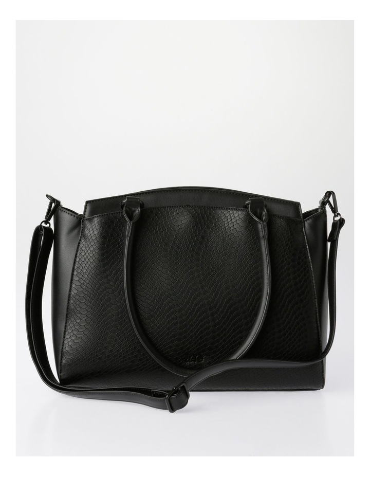 Lydia Double-Handle Tote Bag in Black image 1