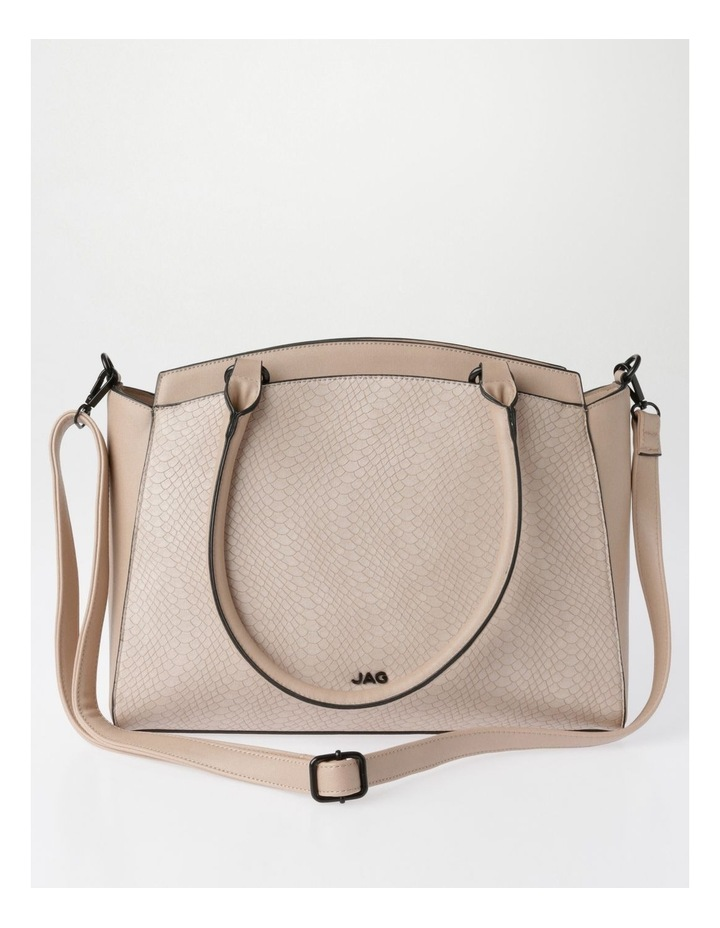Lydia Double-Handle Tote Bag in Blush image 1