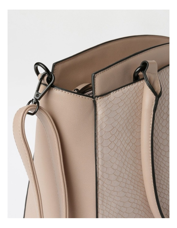 Lydia Double-Handle Tote Bag in Blush image 3