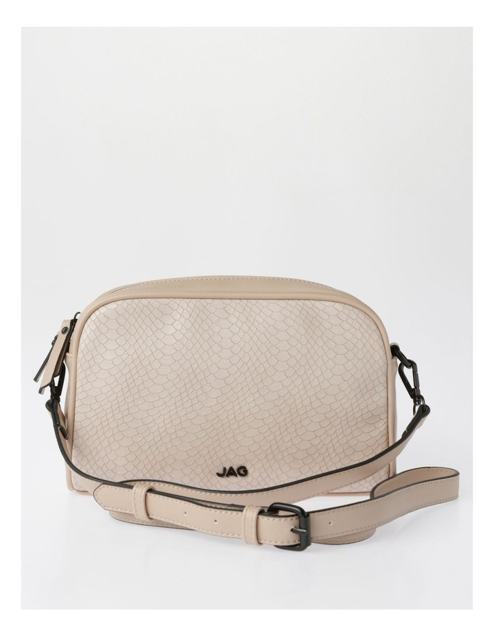 Lydia Zip-Top Crossbody Bag in Blush image 1