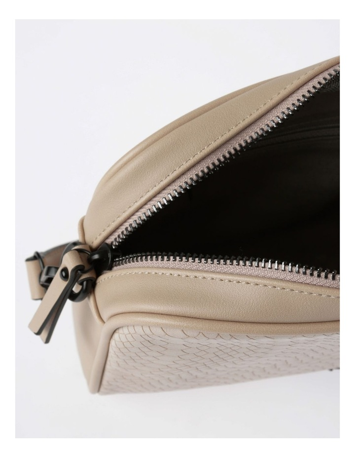 Lydia Zip-Top Crossbody Bag in Blush image 4