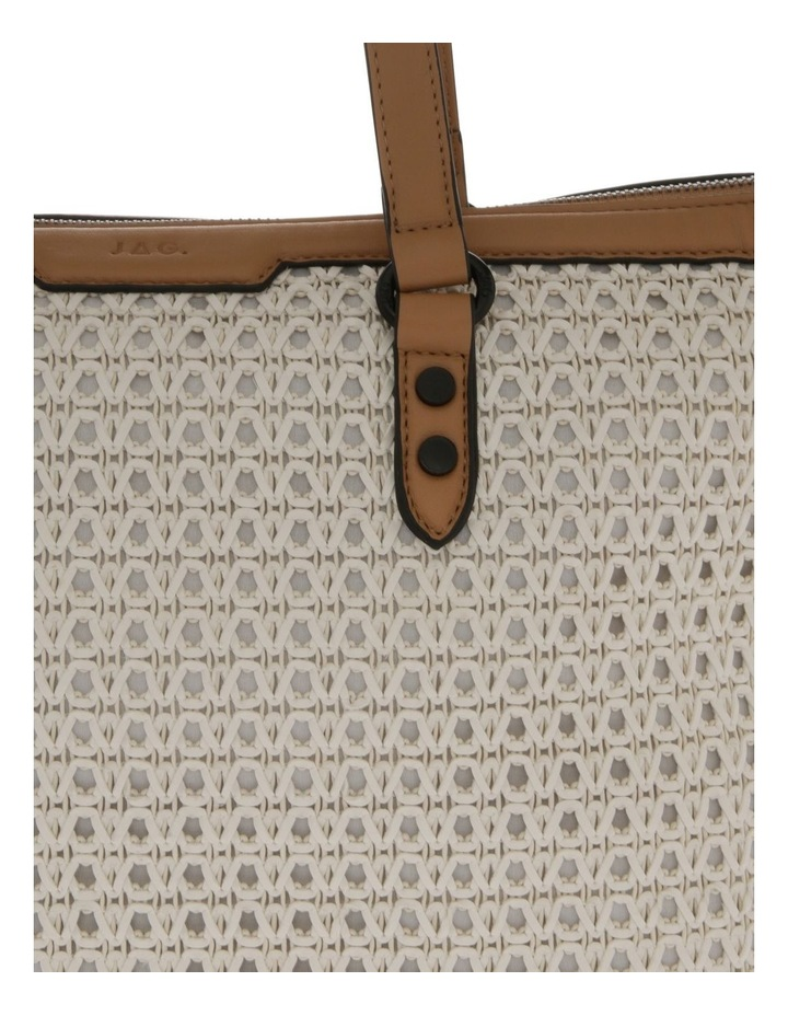Sarah Double-Handle Tote Bag image 3