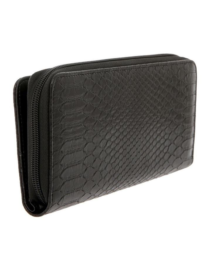 Rosie Croc Zip Around Wallet image 2