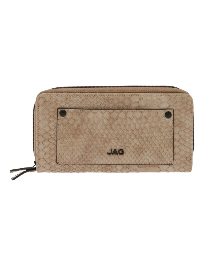 Rosie Croc Zip Around Wallet image 1