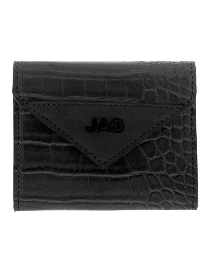 Lucille Flap-Over Black Wallet image 1