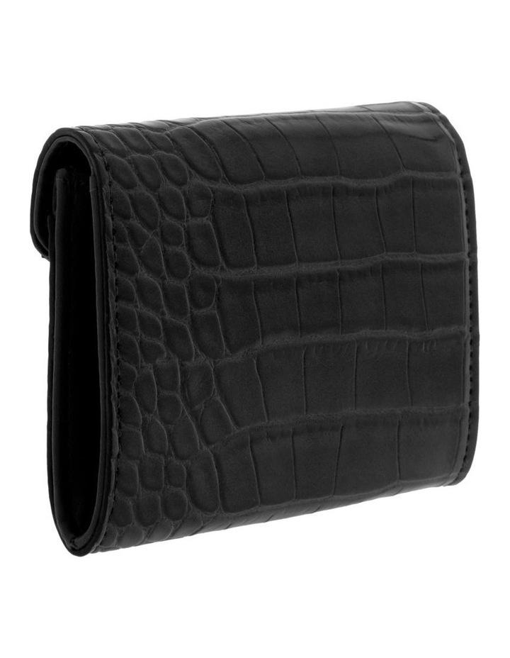Lucille Flap-Over Black Wallet image 2