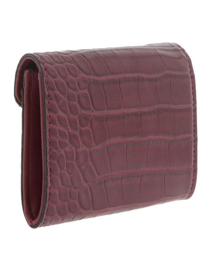 Lucille Flap-Over Burgundy Wallet image 2