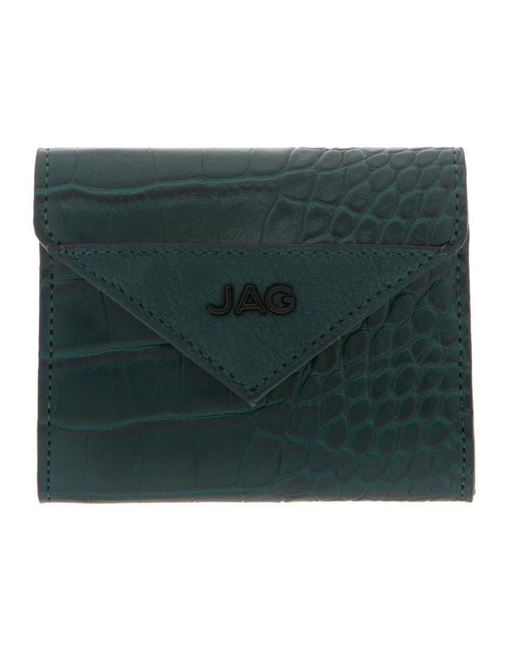 Lucille Flap-Over Green Wallet image 1