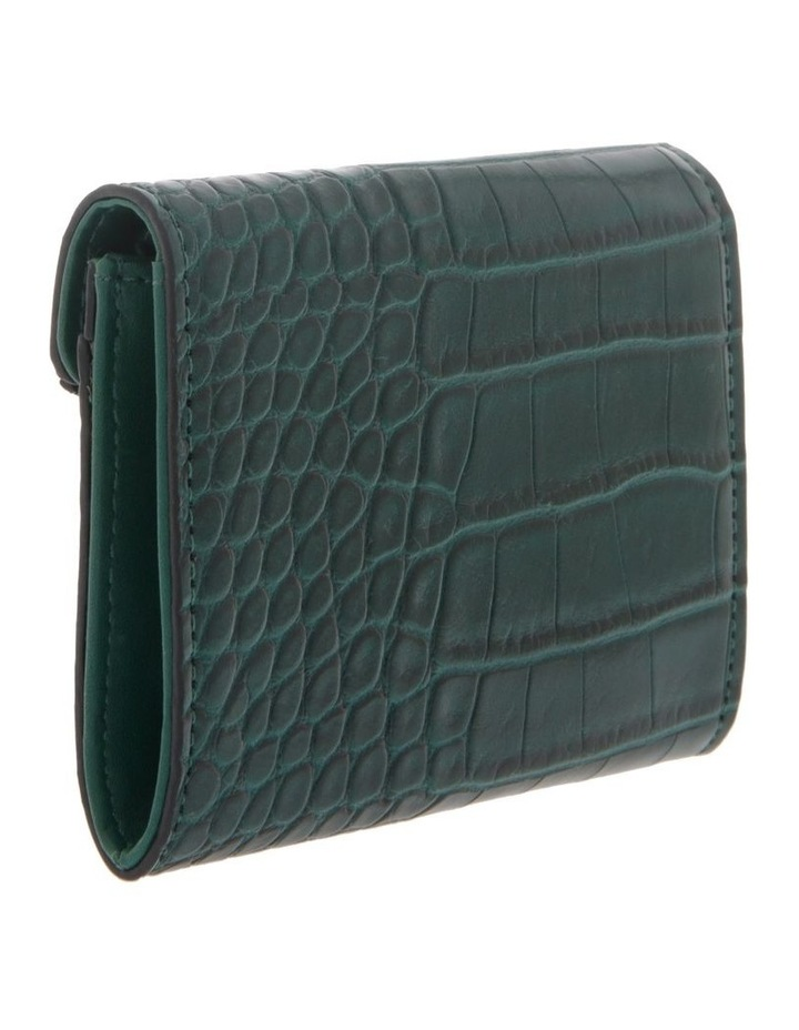 Lucille Flap-Over Green Wallet image 2