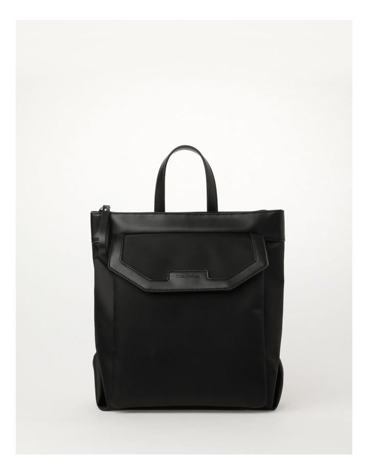 Kyoto Zip Top Black Back Pack image 1