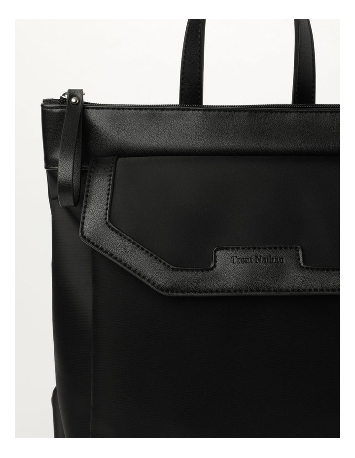 Kyoto Zip Top Black Back Pack image 2
