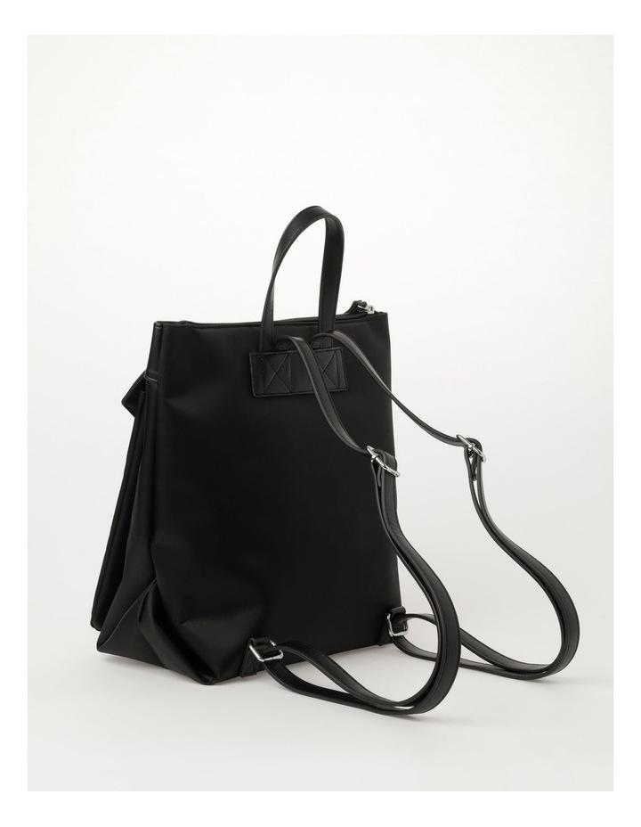 Kyoto Zip Top Black Back Pack image 3