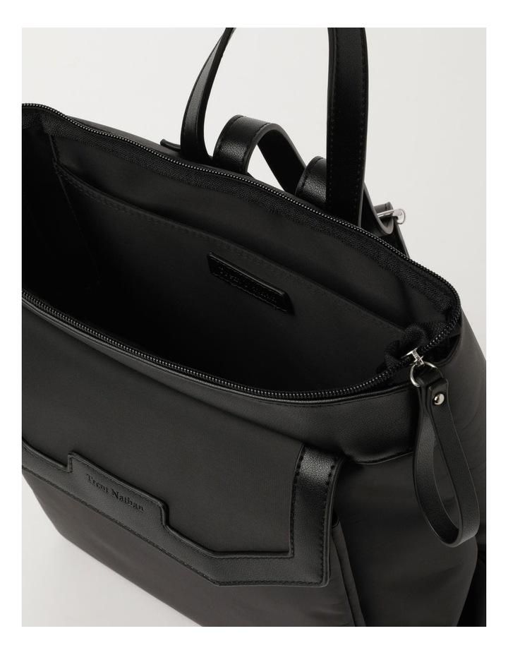 Kyoto Zip Top Black Back Pack image 4
