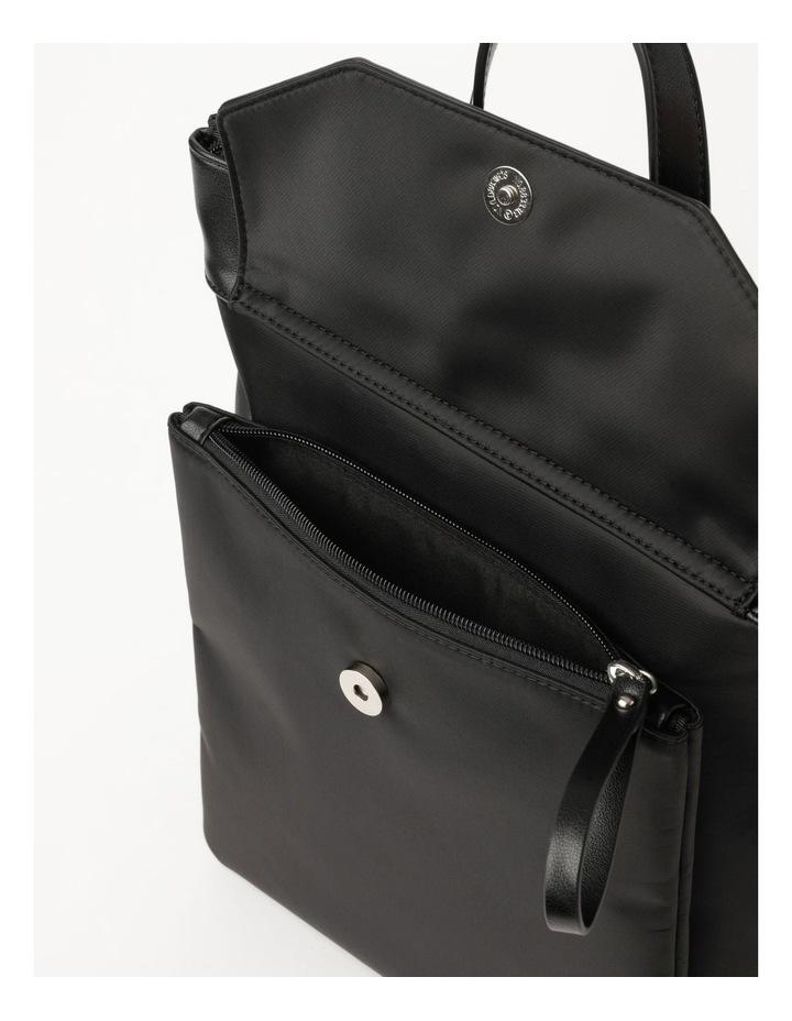 Kyoto Zip Top Black Back Pack image 5