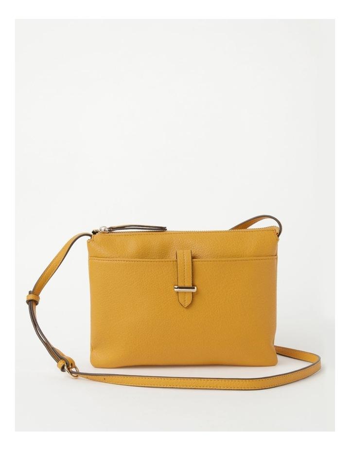 Lara Yellow Zip Top Crossbody Bag image 1