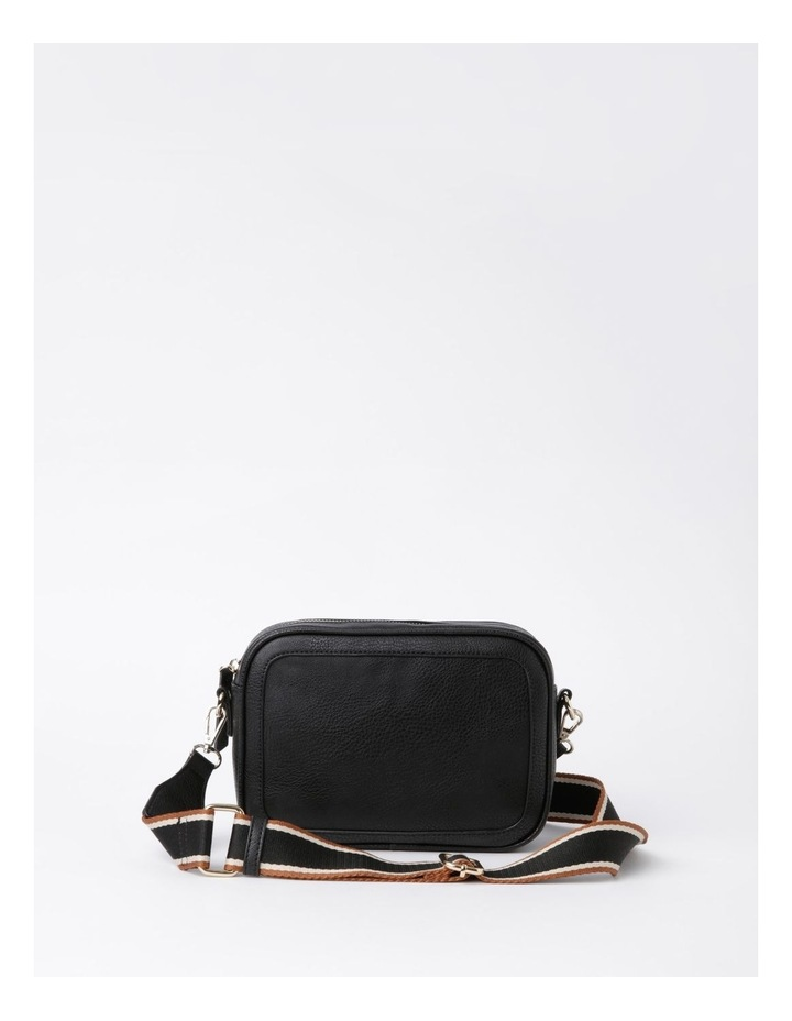 Vancouver Black Camera Crossbody Bag image 1