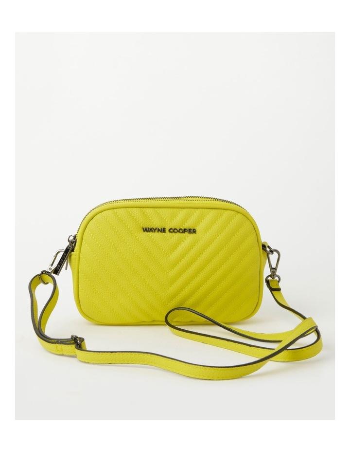 Nat Chartreuse Camera Crossbody Bag image 1