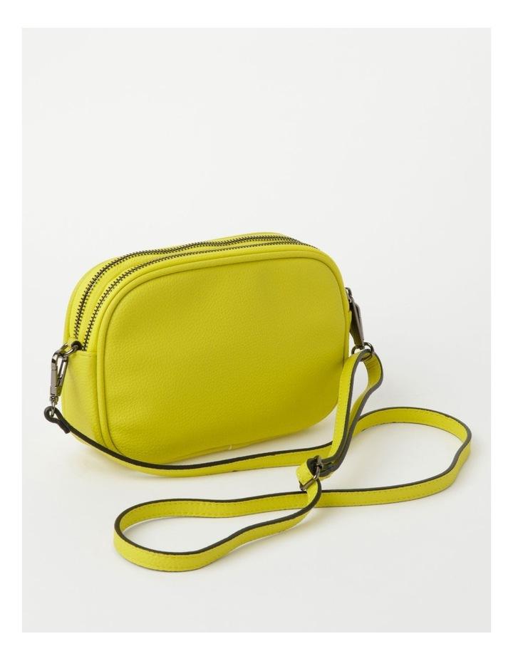 Nat Chartreuse Camera Crossbody Bag image 3