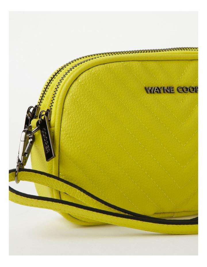 Nat Chartreuse Camera Crossbody Bag image 4