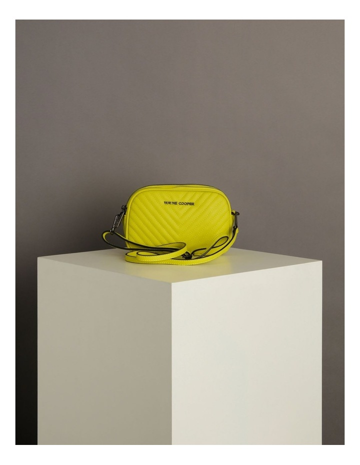 Nat Chartreuse Camera Crossbody Bag image 6