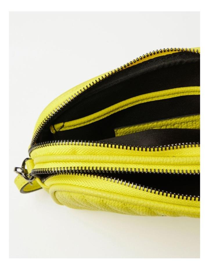 Nat Chartreuse Camera Crossbody Bag image 7