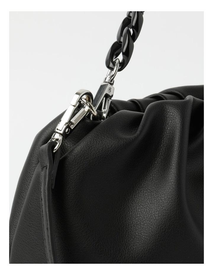 Fresno Black Zip-Top Clutch image 3