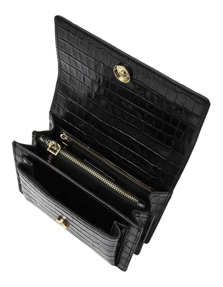 NVAW18S18B-G The Regis Croc Gold Embossed Bag image 4