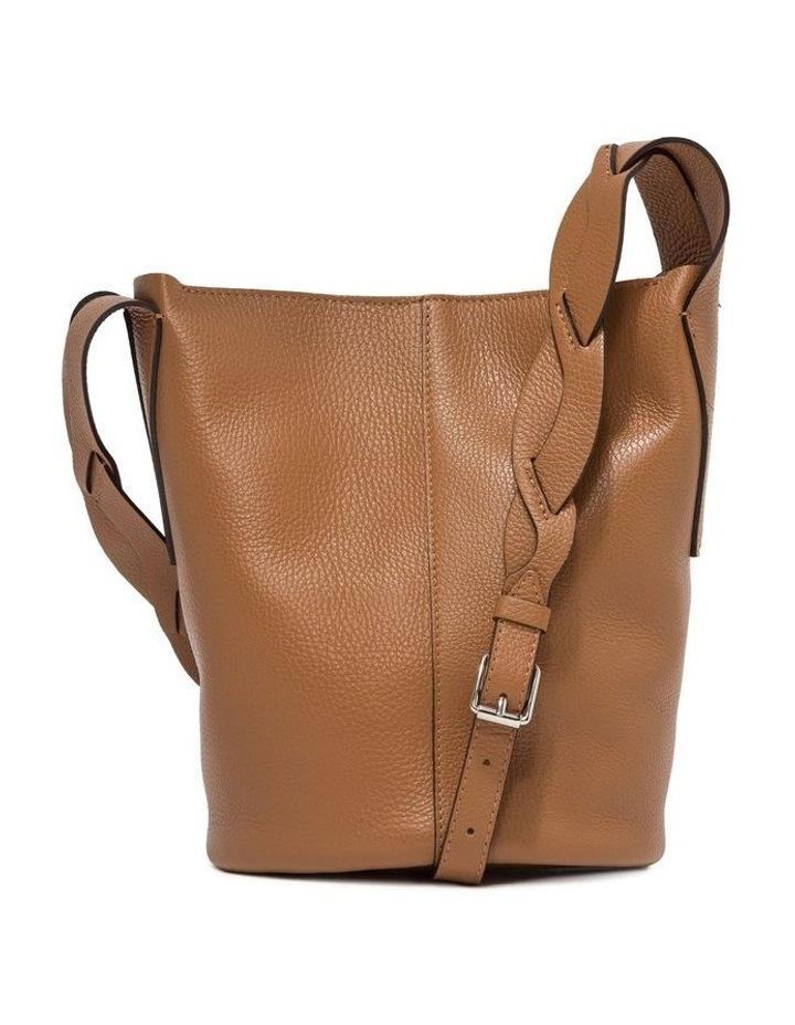 Alba Cream-Cuoio Bucket Shoulder Bag image 1