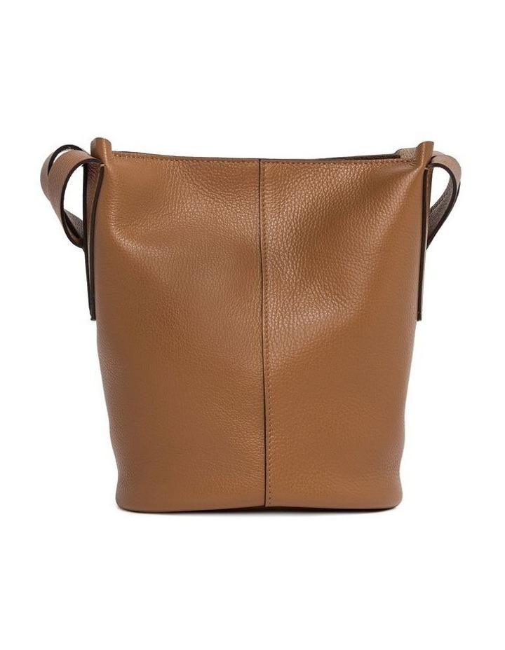 Alba Cream-Cuoio Bucket Shoulder Bag image 2