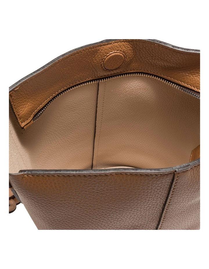 Alba Cream-Cuoio Bucket Shoulder Bag image 4