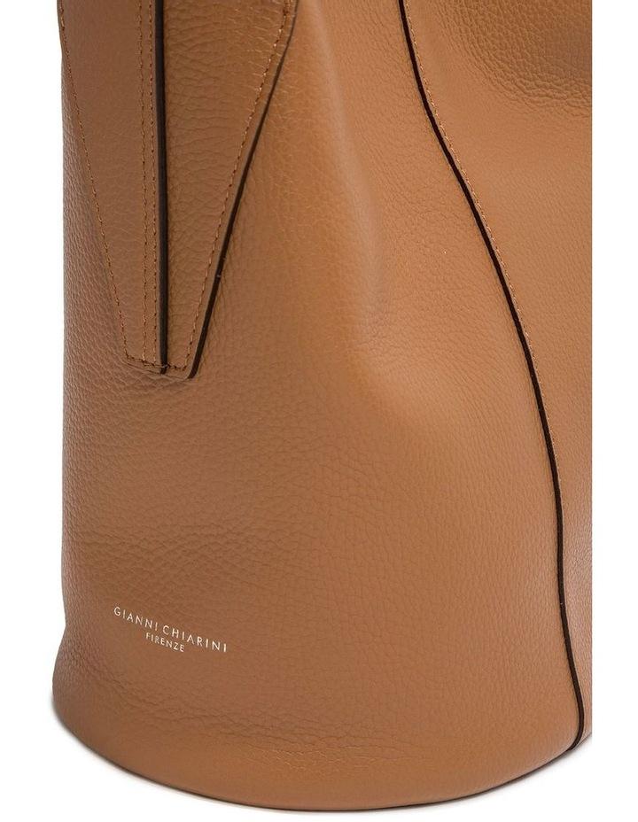 Alba Cream-Cuoio Bucket Shoulder Bag image 5