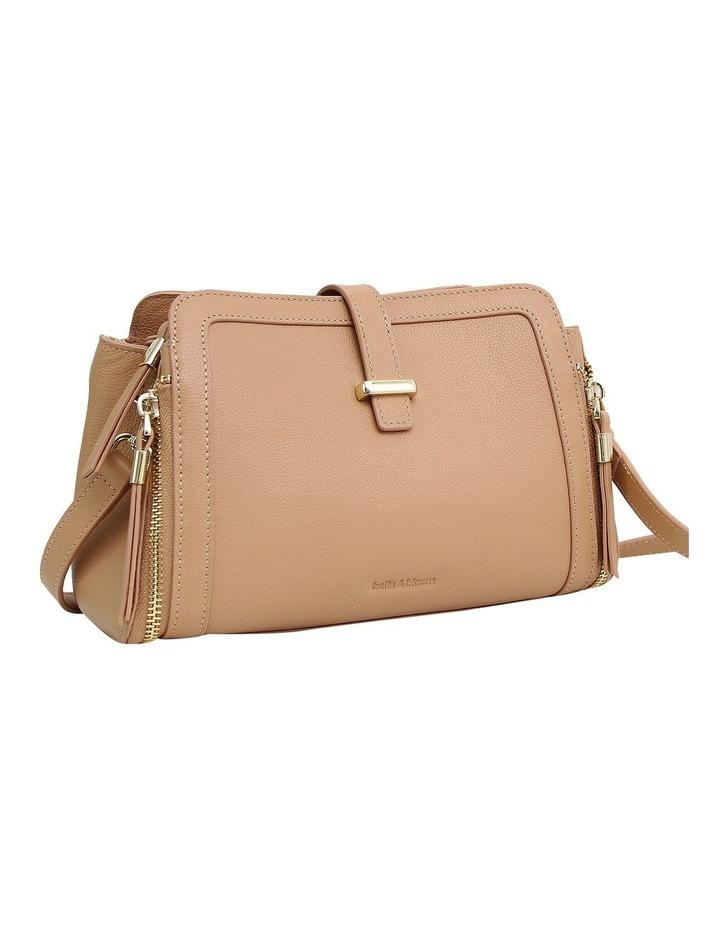 Your Girl Light Camel Zip Top Crossbody Bag image 2