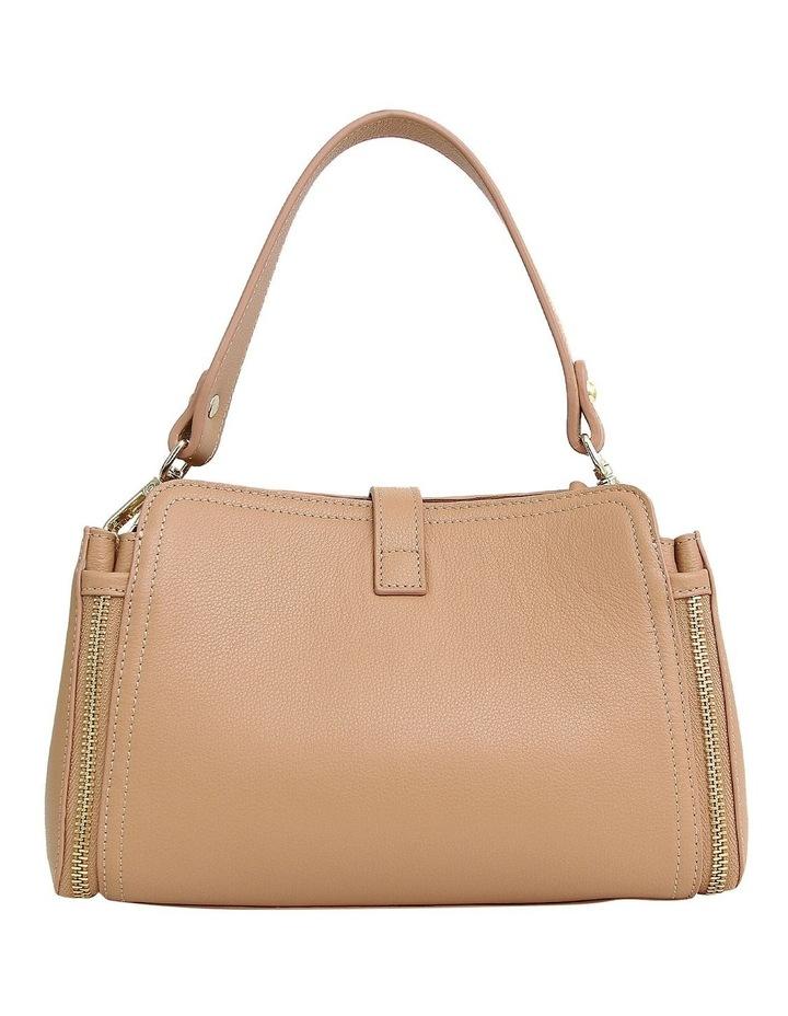 Your Girl Light Camel Zip Top Crossbody Bag image 3