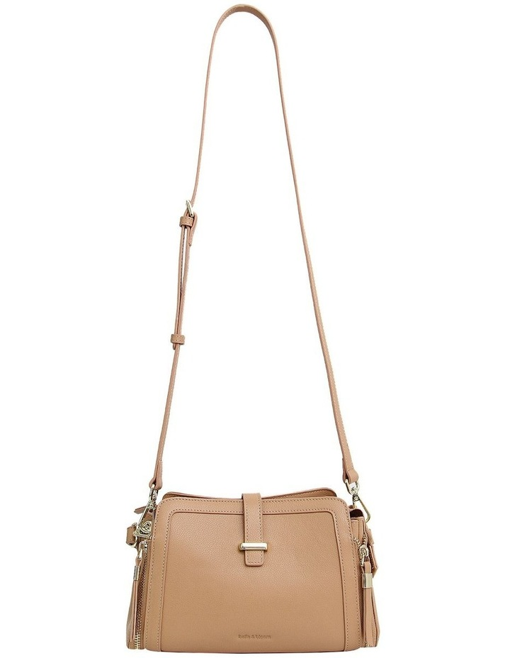 Your Girl Light Camel Zip Top Crossbody Bag image 4