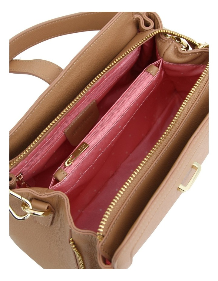 Your Girl Light Camel Zip Top Crossbody Bag image 6
