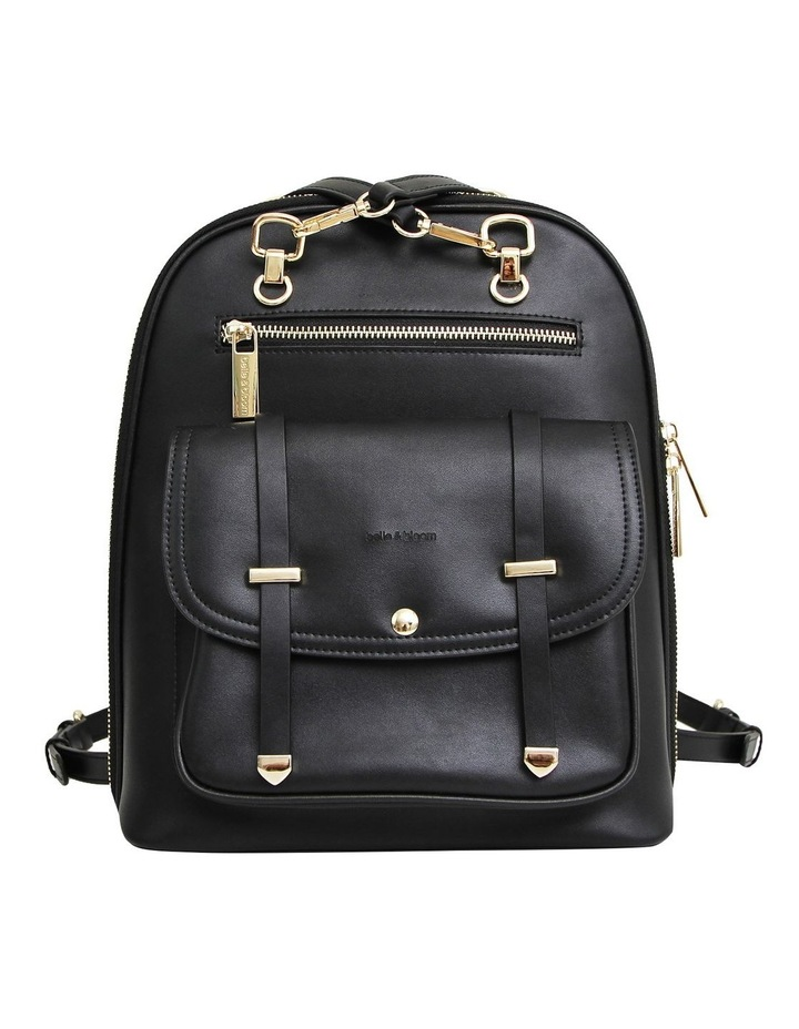 5Th Ave Backpack Black Zip Around Back Pack image 1