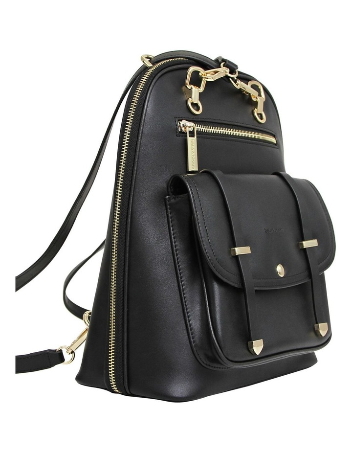 5Th Ave Backpack Black Zip Around Back Pack image 2