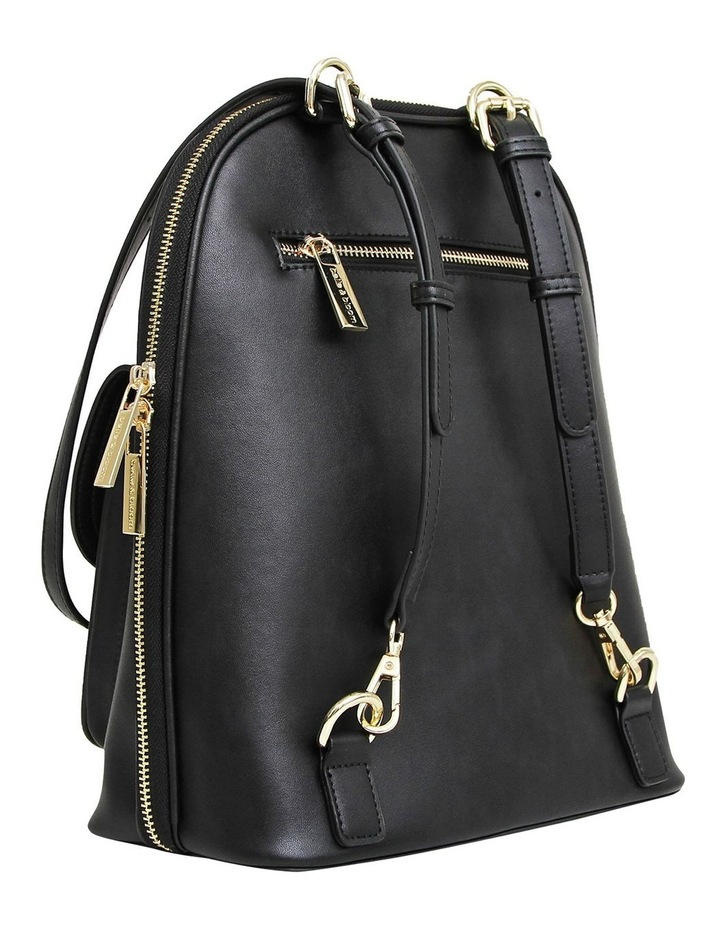5Th Ave Backpack Black Zip Around Back Pack image 3