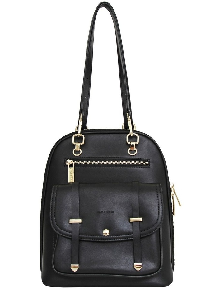 5Th Ave Backpack Black Zip Around Back Pack image 6