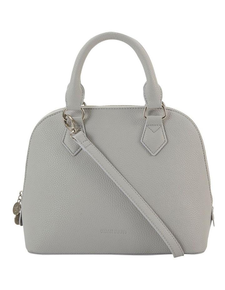 Elizabeth Grey Dome Satchel Bag image 1