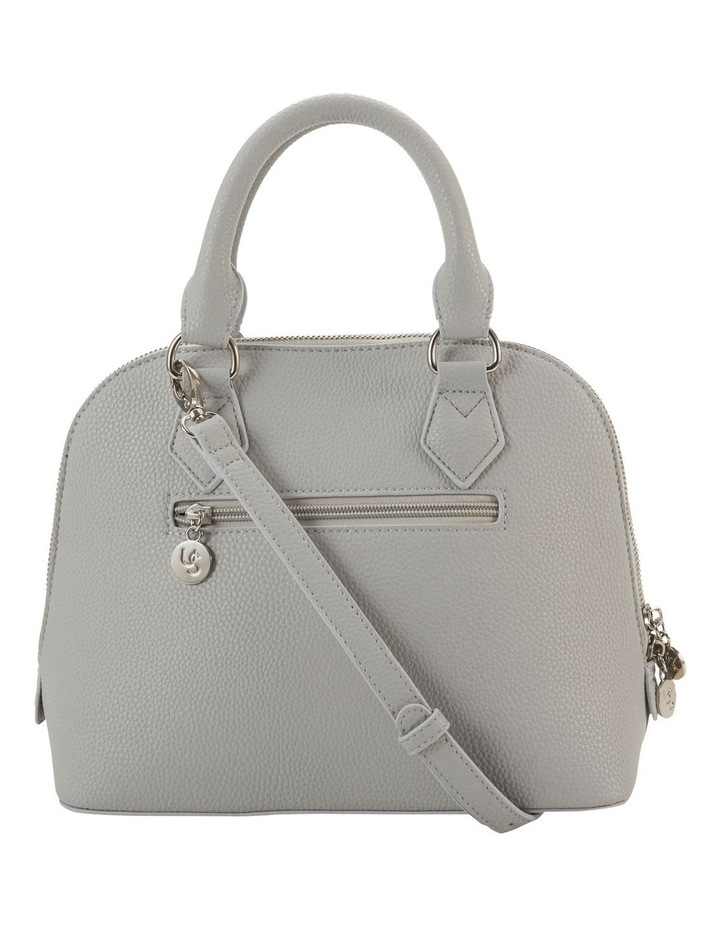 Elizabeth Grey Dome Satchel Bag image 2